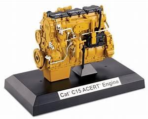 Cat C15 Acert U2122 Diesel Engine 85139 1 12 Scale