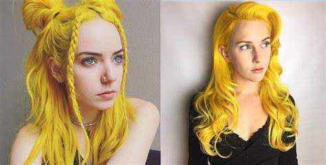 With Yellow Hair by Yellow Hair Color Mood