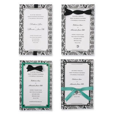 do it yourself invitations michaels dendalee wedding