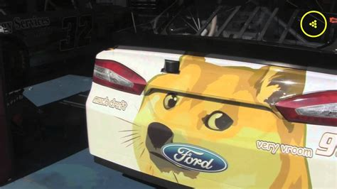 A Special Message from Dogecoin NASCAR Driver Josh Wise ...