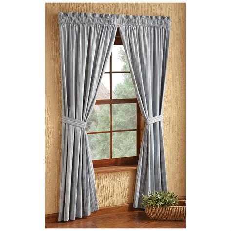 Insulated Drapes Clearance - springfield stripe insulated curtains 614632 curtains