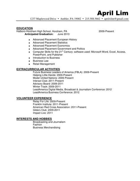 fbla cover letter format resume format resume sles kenya