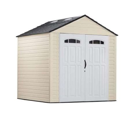 rubbermaid roughneck 7x7 shed accessories rubbermaid 7x7 x large 325 cubic outdoor storage