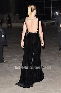 Gwyneth Paltrow Black Backless Evening Dress 2015 Instyle
