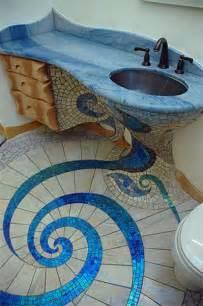 mosaic bathroom floor tile ideas the spiral floor design mosaics tile 2 home design garden architecture magazine