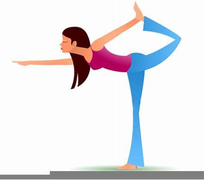 Yoga Clipart Animated Clip Clker Vector Cliparts