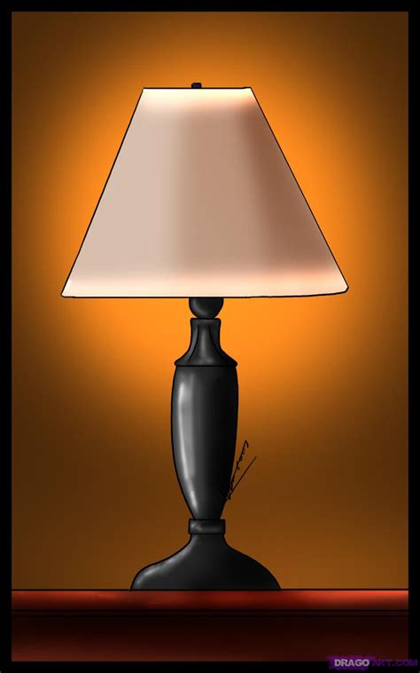 Bunny Lamps by How To Draw A Lamp Step By Step Stuff Pop Culture Free