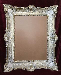 Bastel Spiegel Kaufen : bilderrahmen wei gold mit glas 56x46 gem lde rahmen antik ~ Lizthompson.info Haus und Dekorationen