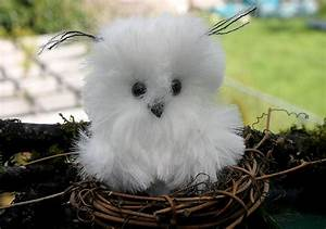Baby Snowy Owl ... eco friendly Owl woolcrazy by woolcrazy ...