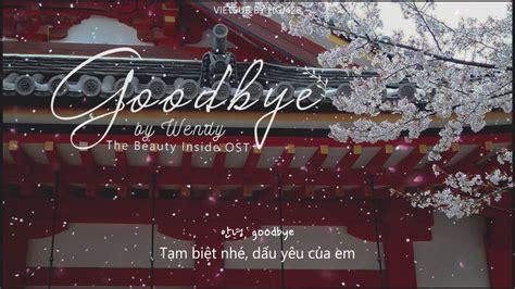 (vietsub) Goodbye 🌸 Wendy (red Velvet)