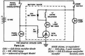 Automotive Battery Saver - Power Supply Circuit