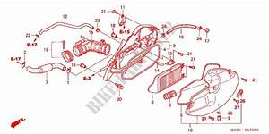 Front Cover  Air Cleaner For Honda Spacy 100 2003   Honda