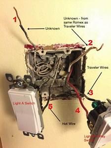 Need Help Identifying Light Switch Wiring