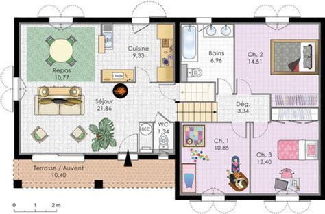 faire des plans de cuisine villa à énergie positive dé du plan de villa à énergie positive faire construire sa maison