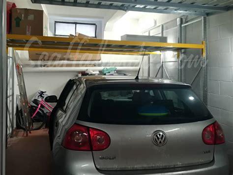 scaffali garage scaffale per garage a soppalco