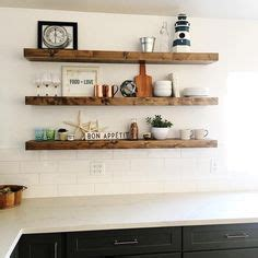 salvaged kitchen cabinets for 20 diy floating shelves ghostly decor 7858