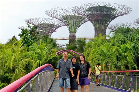 Trip To Gardens By The Bay, Singapore