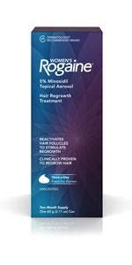 Amazon.com : Women's Rogaine 5% Minoxidil Foam for Hair