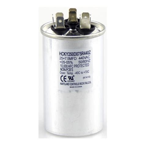 fan capacitor home depot westinghouse 3 mfd and 6 5 mfd fan capacitor 7709100 the