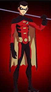 Images of Young Justice Tim Drake Red Robin - #Summer