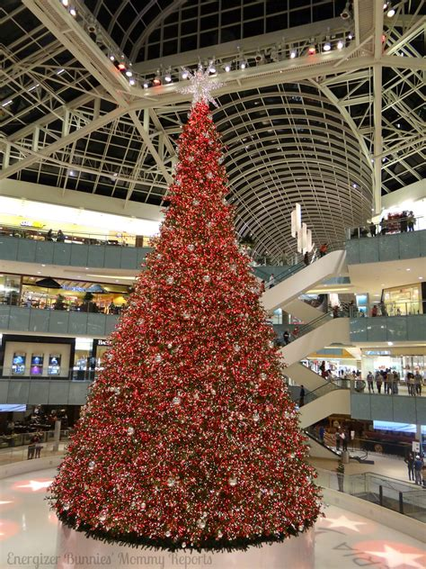 america s largest indoor christmas tree is in