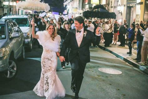 A New Orleans Traditional Wedding With A Second Line