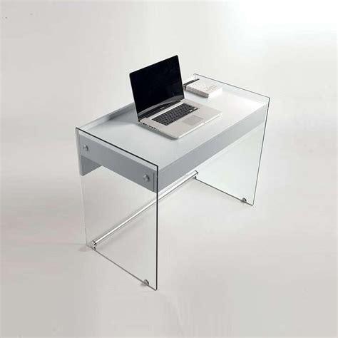 bureau avec plateau en verre plateau bureau en verre maison design modanes com