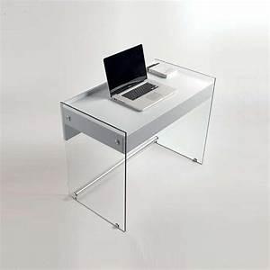 Schreibtisch Aus Glas : mydesk schreibtisch aus glas mit schublade und laminatplatte sediarreda ~ Markanthonyermac.com Haus und Dekorationen