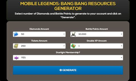 mobile legend hack tool free mobile legends hack tool generator 2018 apk