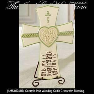 Irish wedding blessing celtic cross irish wedding gifts for Irish wedding gifts from ireland