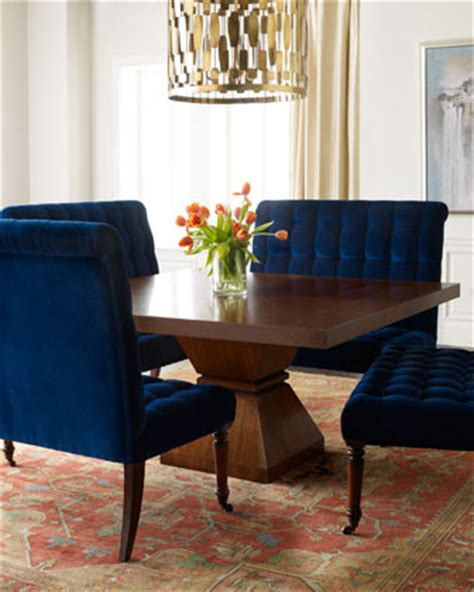 each barclay butera lifestyle sapphire banquette
