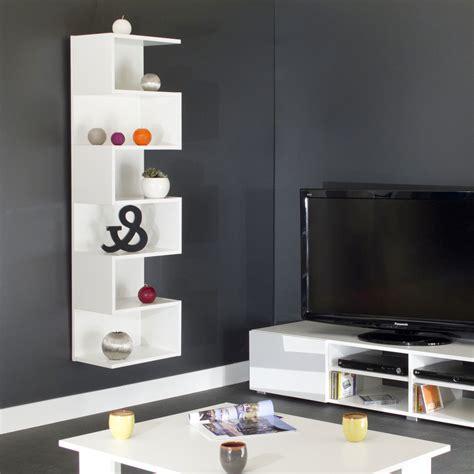 tv cuisine etagère murale design en bois l39xp26xh138cm