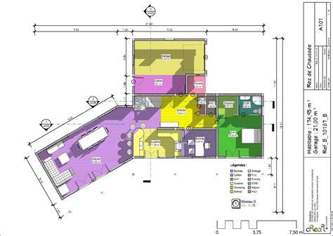 plan maison plain pied 4 chambres avec suite parentale plan maison 4 chambres luxe plan maison plain pied 4