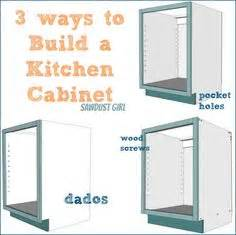 kitchen cabinet basics 3 bedroom bungalow plan house in kenya architecture 2363
