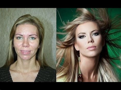 Before And After Amazing Make Up Transformation Youtube