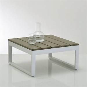 Table De Salon La Redoute : table basse en polywood admer la redoute interieurs salon de jardin pinterest table basse ~ Voncanada.com Idées de Décoration
