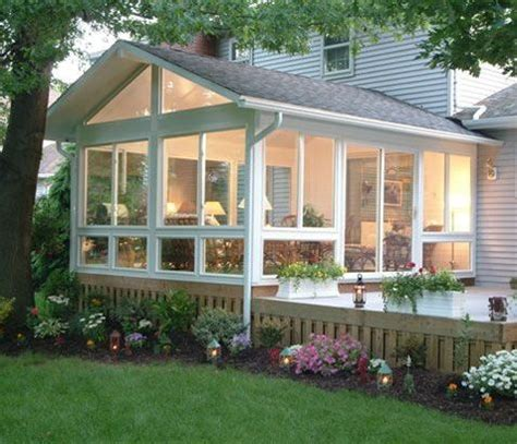 adding  window filled sun room   great