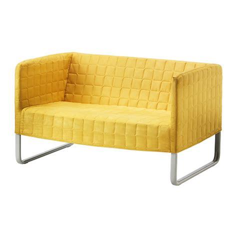 knopparp canapé 2 places jaune vif ikea