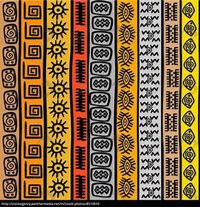 Rechnung Ohne Unterschrift Gültig : nahtlose muster mit ethnischen afrikanischen motiven stock photo 8513810 bildagentur ~ Themetempest.com Abrechnung