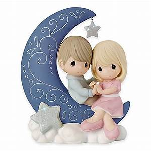 Precious Moments® I Love You to the Moon and Back Figurine ...