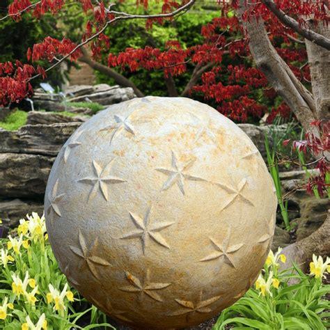 Deko Steinkugel Für Den Garten  Aristo • Gartentraumde