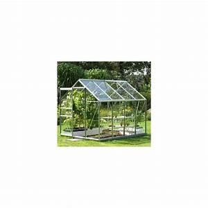 Serre Acier Verre : serre venus en verre horticole 6 20m embase en acier ~ Premium-room.com Idées de Décoration