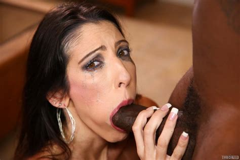Milf Dava Foxx Gets Her Throat Opened Up With A Big Black