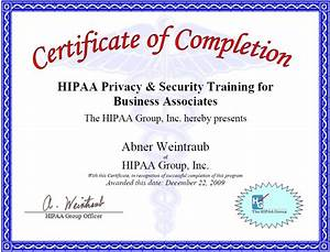 hipaa certificate template 28 images hipaa certificate With hipaa training certificate template