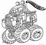 Coloring Pages Monster Truck Digger Grave Drawing Getcolorings Getdrawings Printable Colorin Colorings sketch template