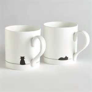 cat mug cat mugs sitting cat and sleeping cat mug jin designs