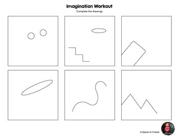 plan imagination workout worksheets creativity