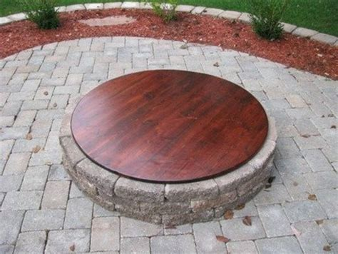 Fire Pit Cover  By Spaids @ Lumberjockscom Woodworking