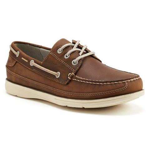 chaps windrow mens oxford boat shoes  kohls shoes