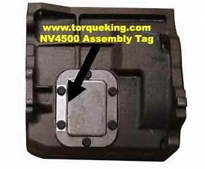 Identifying Nv4500 Transmissions By Build Tag Number